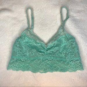 PINK by Victoria's Secret mint green bralette